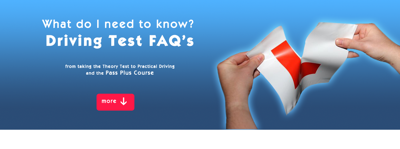 Driving Test FAQ's